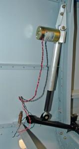 Vérin électrique de volets
