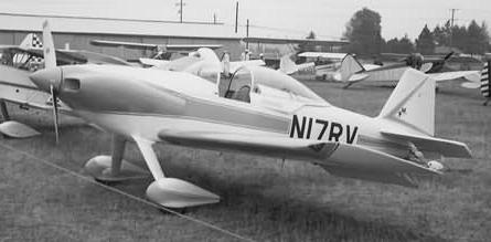 Le numéro 1 de la série du RV-3