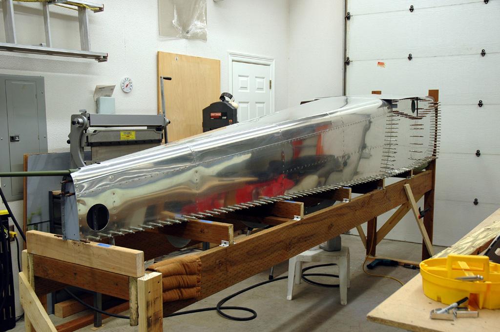 Bâti pour le fuselage