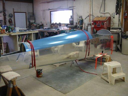 Fermeture fuselage